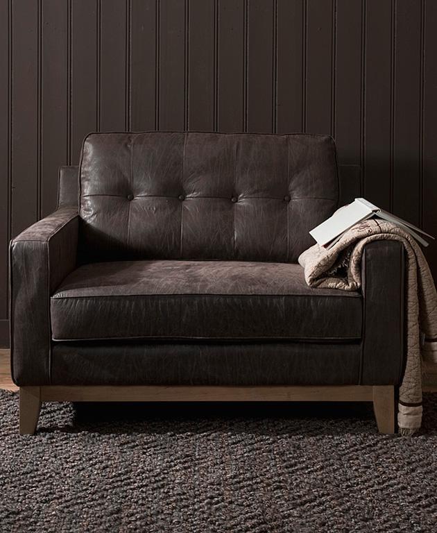 ledersofa mell von cor ledersofas f r jedes budget 1 sch ner wohnen. Black Bedroom Furniture Sets. Home Design Ideas