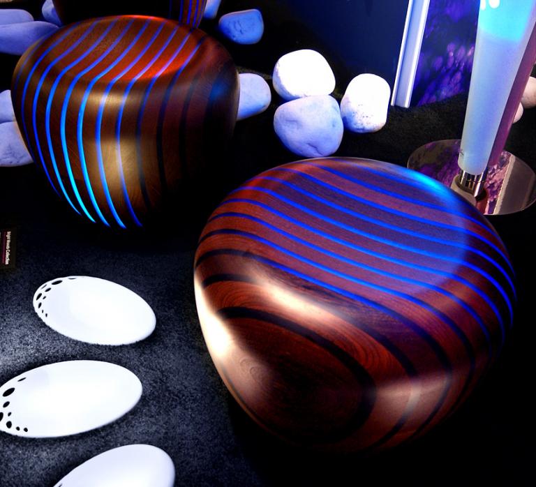 m bel mit led beleuchtung sch ner wohnen. Black Bedroom Furniture Sets. Home Design Ideas