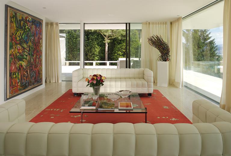 Einrichten Wohnzimmer Im Galerie Stil Bild SchÖner Wohnen