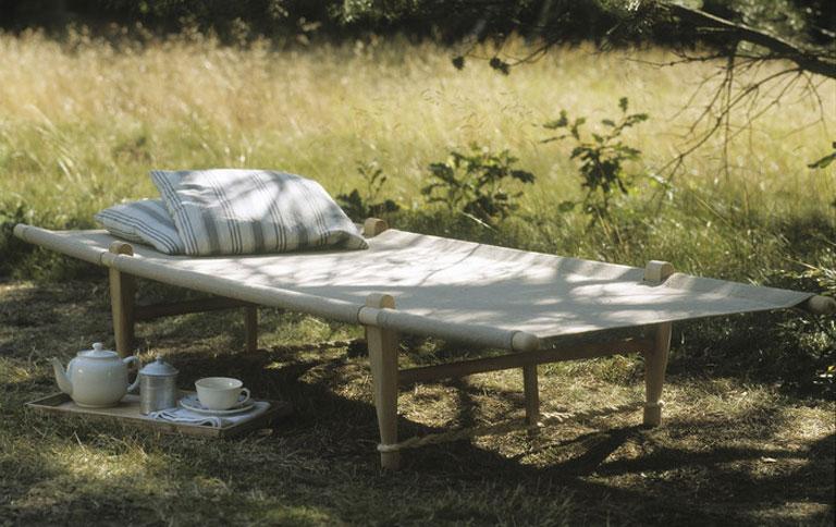 faltliege f r entspannte sommertage sch ner wohnen. Black Bedroom Furniture Sets. Home Design Ideas