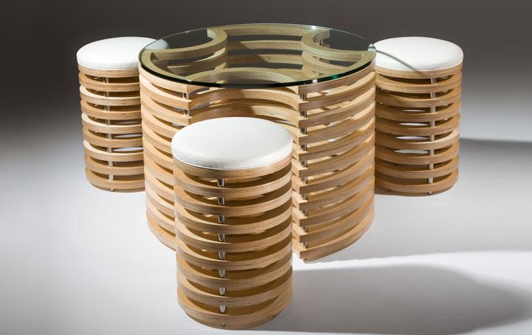 Tisch und st hle in 3d design sch ner wohnen - Balances online roset ...