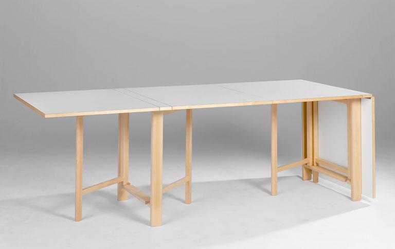 Platzsparender tisch zum zusammenklappen sch ner wohnen for Platzsparender schreibtisch