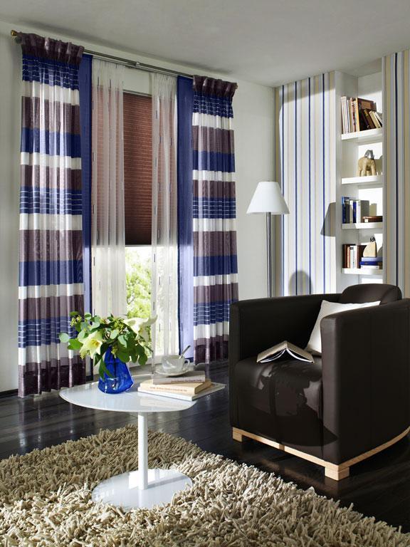 Fensterdekoration ocean von unland bild 7 sch ner wohnen - Wandgarten wohnzimmer ...