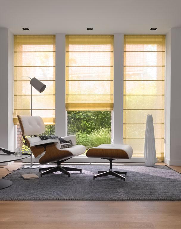 raffrollo von teba bild 2 sch ner wohnen. Black Bedroom Furniture Sets. Home Design Ideas
