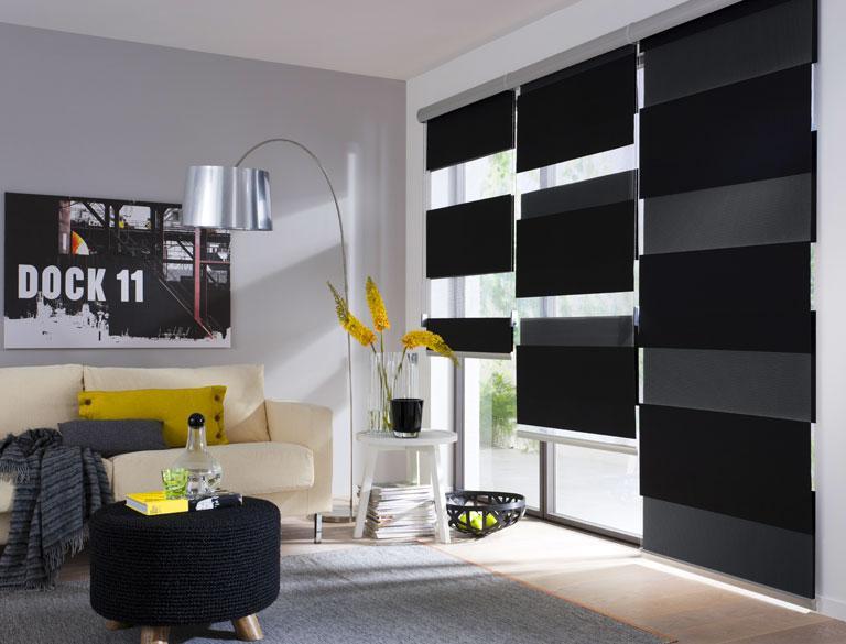 rollo tape r von cr ation baumann fensterdeko mit rollos 15 sch ner wohnen. Black Bedroom Furniture Sets. Home Design Ideas