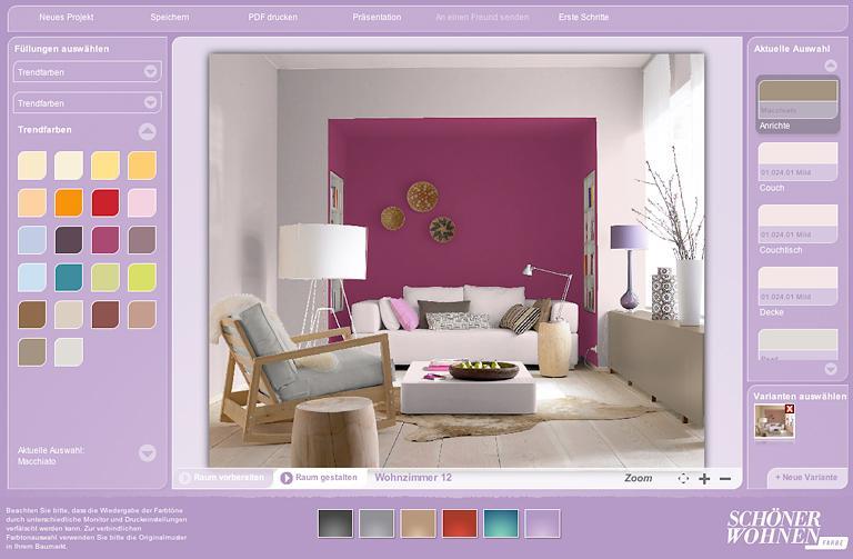foto schöner wohnen farbe