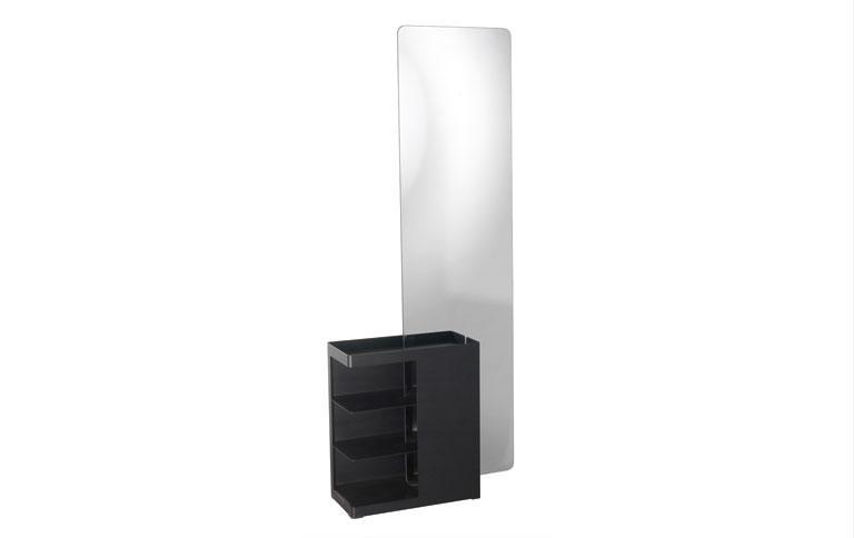 garderobenst nder mit gro em spiegel sch ner wohnen. Black Bedroom Furniture Sets. Home Design Ideas