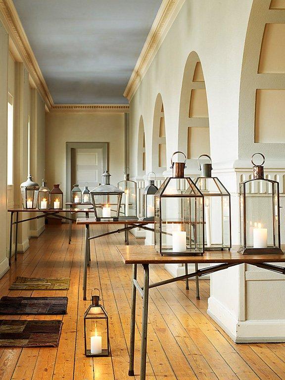 inspiration f r warme lichtreflexe glaslaternen von nordal bild 20 sch ner wohnen. Black Bedroom Furniture Sets. Home Design Ideas