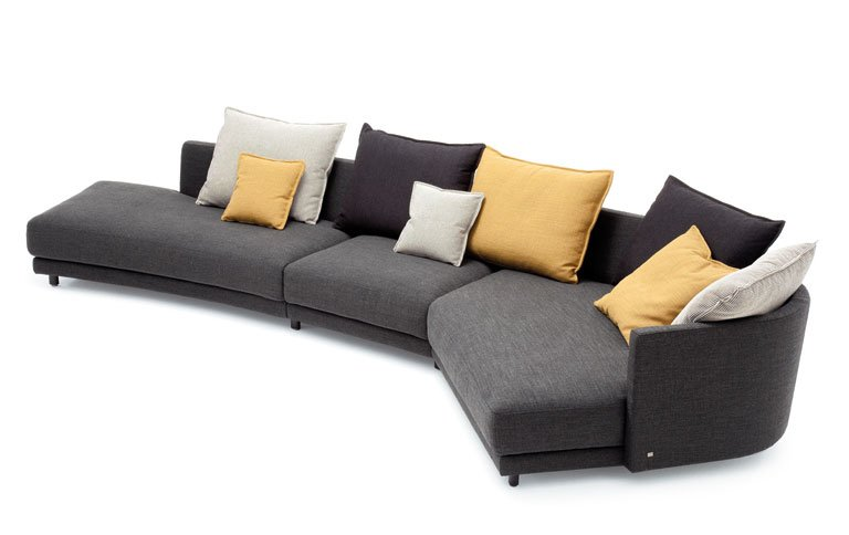 flexibles sofa onda von rolf benz sch ner wohnen. Black Bedroom Furniture Sets. Home Design Ideas