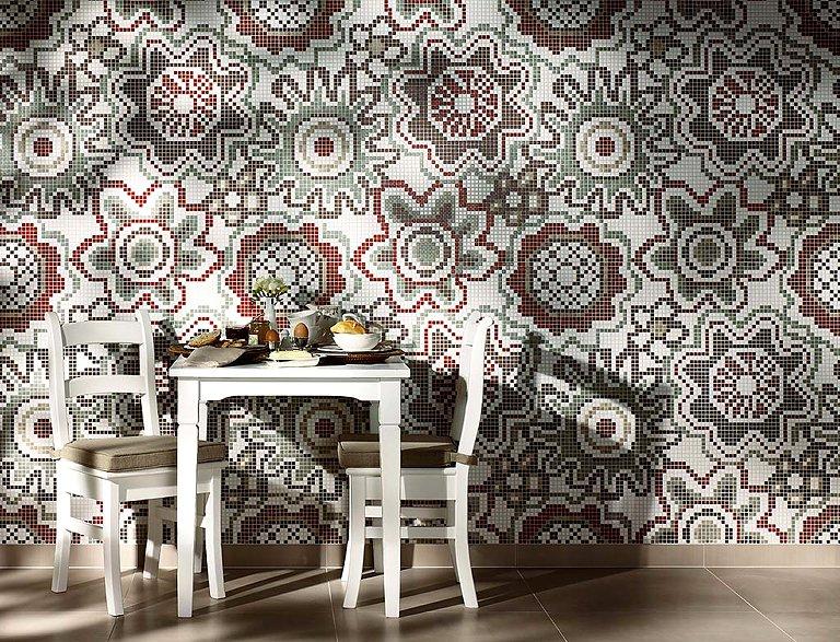 mosaikfliesen f r bad k che und wohnzimmer sch ner wohnen. Black Bedroom Furniture Sets. Home Design Ideas