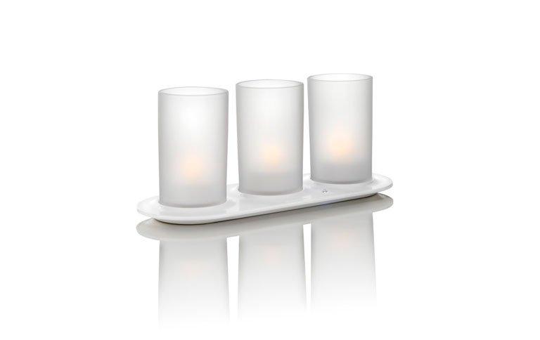 led leuchten flackern wie echte kerzen sch ner wohnen. Black Bedroom Furniture Sets. Home Design Ideas