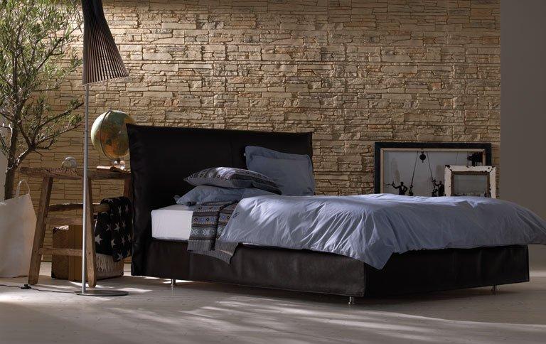 bett mit doppelter matratze sch ner wohnen. Black Bedroom Furniture Sets. Home Design Ideas