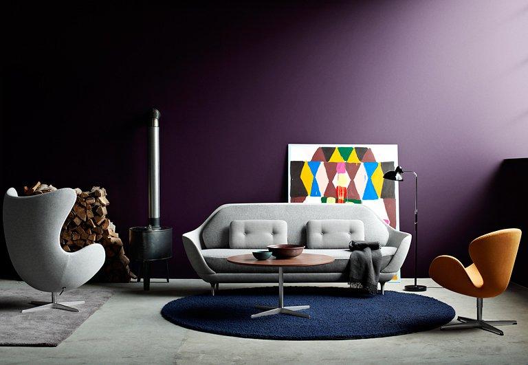 brombeere zu grau kamel und marine bild 8 sch ner wohnen. Black Bedroom Furniture Sets. Home Design Ideas