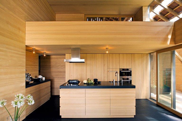 versteckte k che k chen in architektenh usern 19. Black Bedroom Furniture Sets. Home Design Ideas