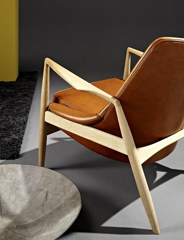 Fotostrecke Schones Paar Sessel Und Schale Aus Leder Bild 2