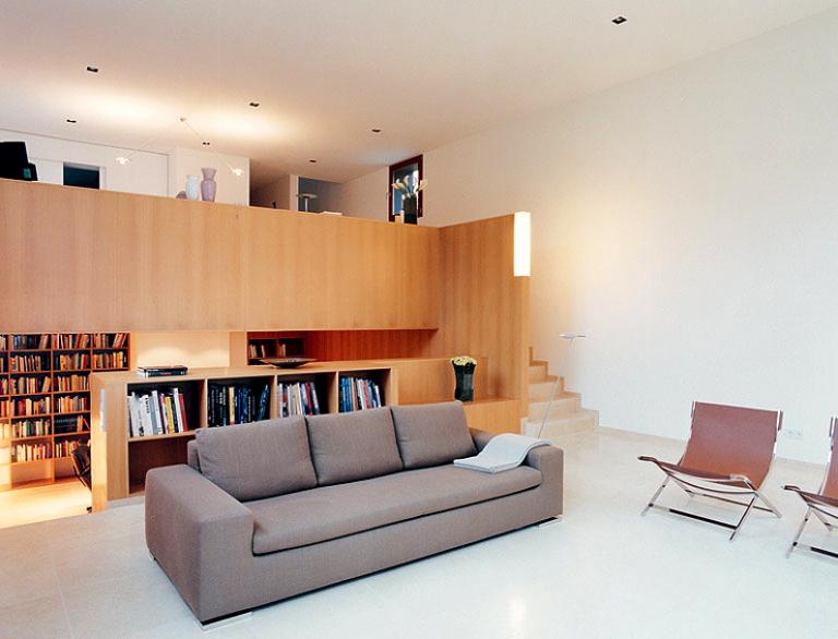 wohnzimmer als konzertsaal wohnzimmer in architektenh usern 3 sch ner wohnen. Black Bedroom Furniture Sets. Home Design Ideas