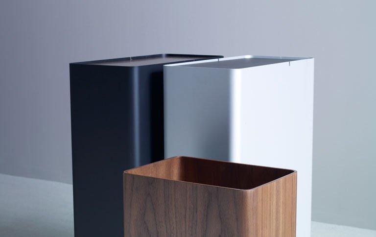 beh lter f r m ll w sche oder papier sch ner wohnen. Black Bedroom Furniture Sets. Home Design Ideas