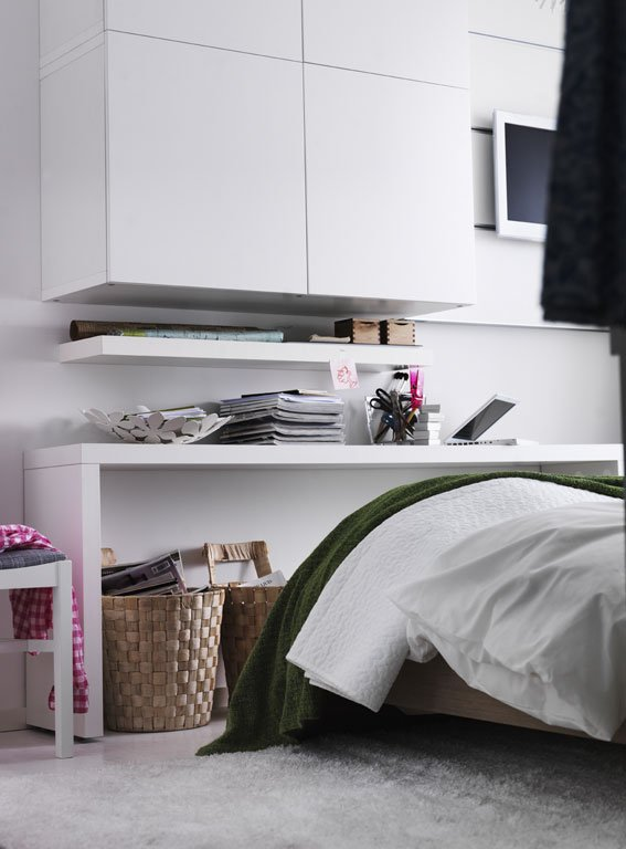 Kleine Räume: Mehr Stauraum Im Schlafzimmer - Bild 5 - [schÖner ... Kleines Schlafzimmer Einrichten Ikea