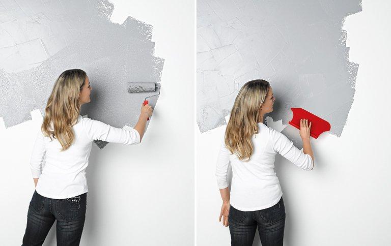 Häufig Wandgestaltung in Betonoptik - [SCHÖNER WOHNEN] TA23