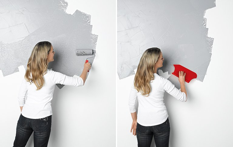 Wandfarben effekt