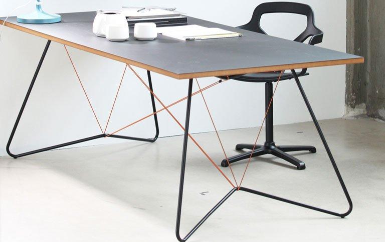 Esstisch Designklassiker Schnre Halten Tisch Zusammen