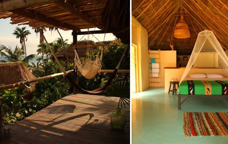 pop up hotel papaya playa in mexiko er ffnet sch ner wohnen. Black Bedroom Furniture Sets. Home Design Ideas