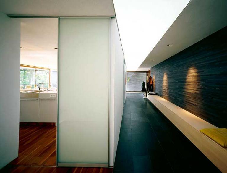 architektenh user und ihre wandgestaltung sch ner wohnen. Black Bedroom Furniture Sets. Home Design Ideas