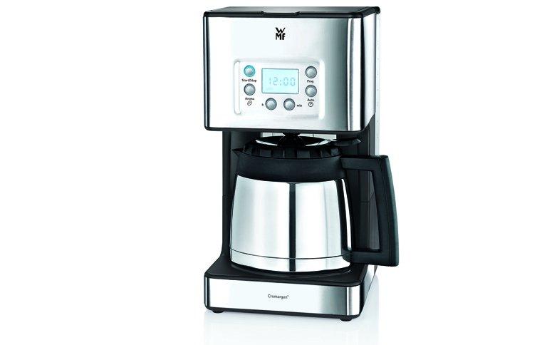kaffeemaschine mit cromargan oberfl che sch ner wohnen. Black Bedroom Furniture Sets. Home Design Ideas