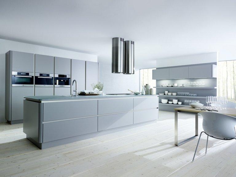 Küche küche glasfront grau : 10 Top-Produkte von next125 & next line: NX 500 Lavaschwarz-Struktur