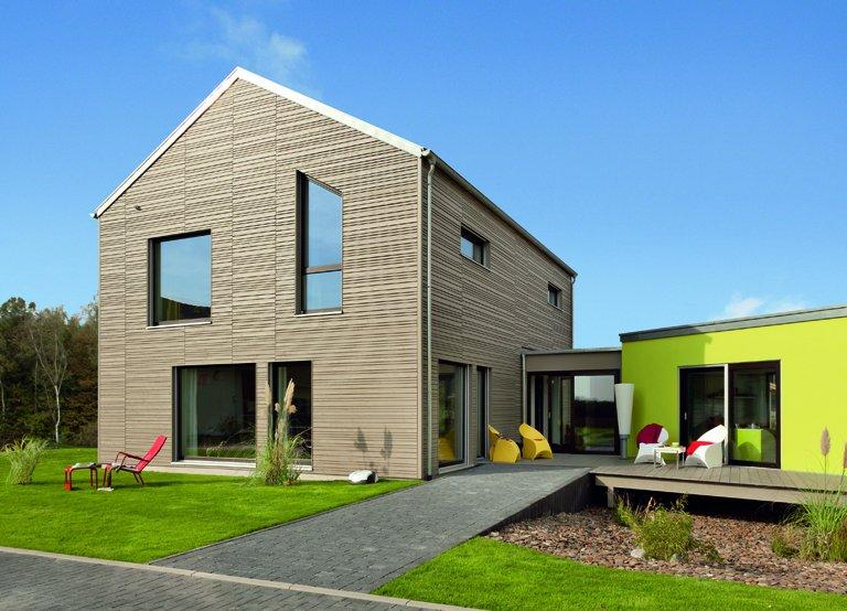Sch ner wohnen haus mono 10 top produkte von for Modernes haus dach