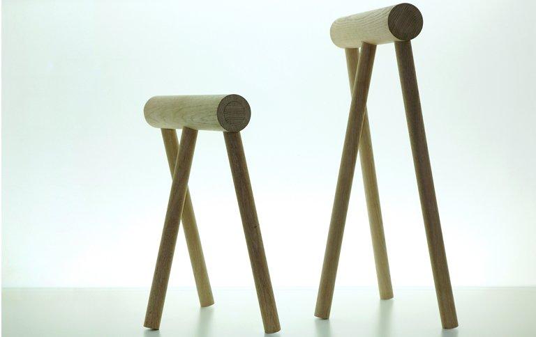 tischbock gemixt mit hocker wird zum bhocker sch ner wohnen. Black Bedroom Furniture Sets. Home Design Ideas