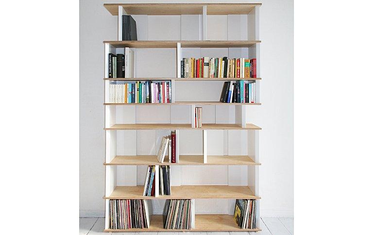 regal im modularen stecksystem sch ner wohnen. Black Bedroom Furniture Sets. Home Design Ideas
