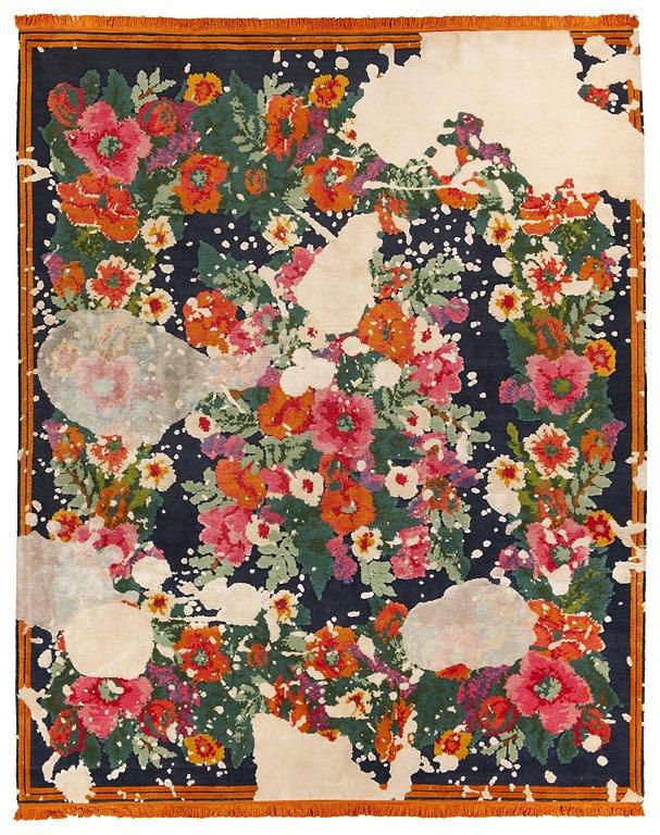 Fotostrecke Floral Teppich ScarlenkaSplashed von Jan