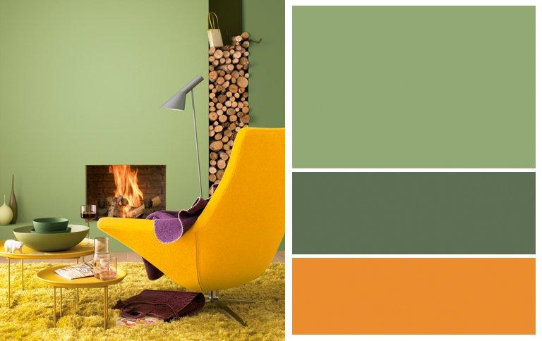 Wandfarben grun schoner wohnen