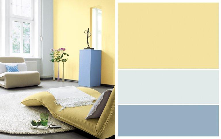 farben kombinieren sonne und himmel bild 13 sch ner wohnen. Black Bedroom Furniture Sets. Home Design Ideas