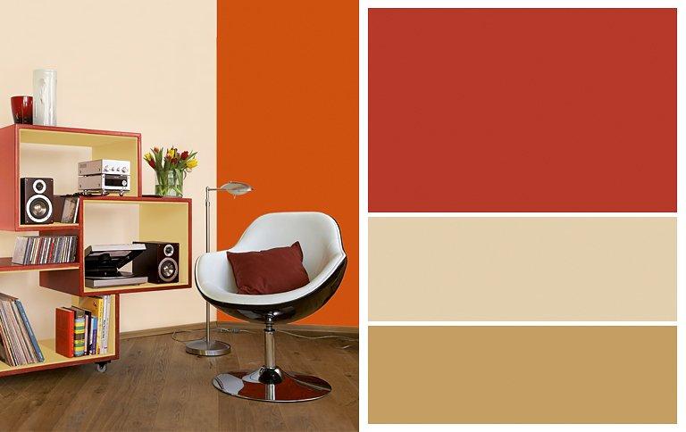 wohnen mit farben stilkarten von sch ner wohnen farbe. Black Bedroom Furniture Sets. Home Design Ideas