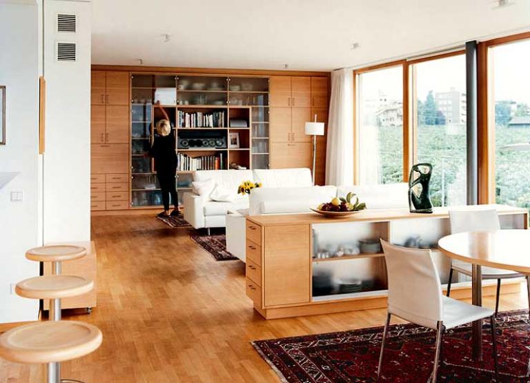 wohnzimmer mit viel holz bild 35 sch ner wohnen. Black Bedroom Furniture Sets. Home Design Ideas