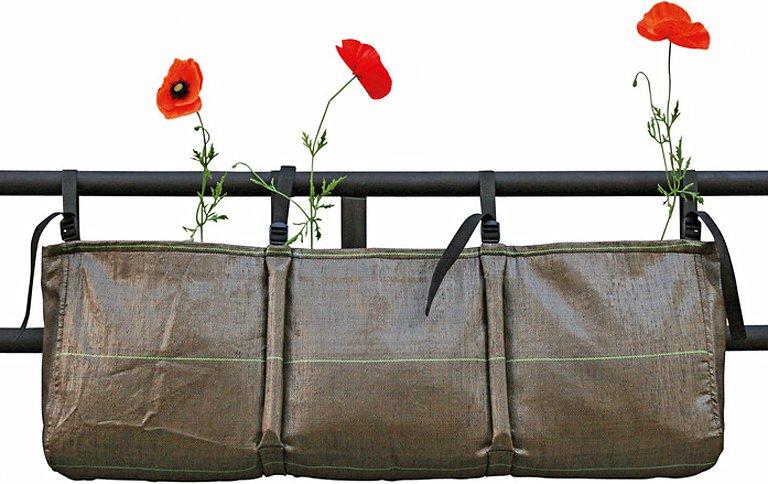 natur im sack mit pflanztaschen bacsac sch ner wohnen. Black Bedroom Furniture Sets. Home Design Ideas
