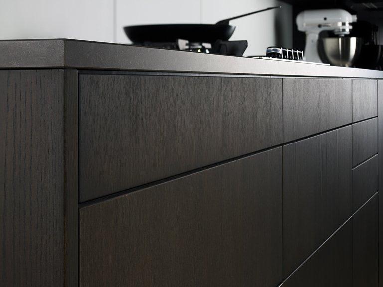 holz in der k che sch ner wohnen. Black Bedroom Furniture Sets. Home Design Ideas