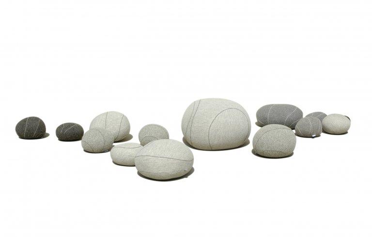 kieselsteine mit wollbezug f r den privatstrand sch ner wohnen. Black Bedroom Furniture Sets. Home Design Ideas