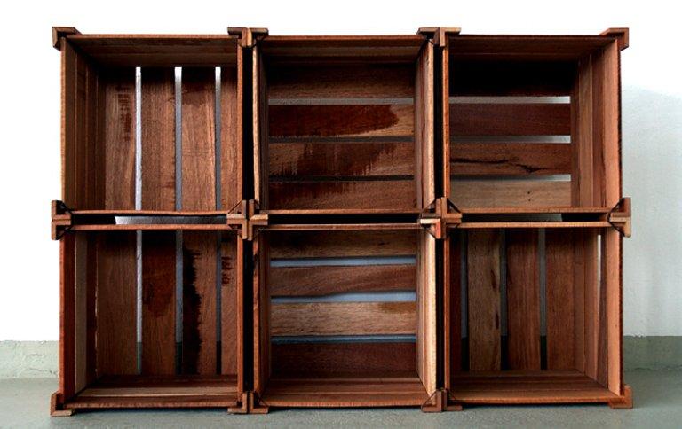 hafenholz macht aus brettern und kisten eine bretterkiste sch ner wohnen. Black Bedroom Furniture Sets. Home Design Ideas