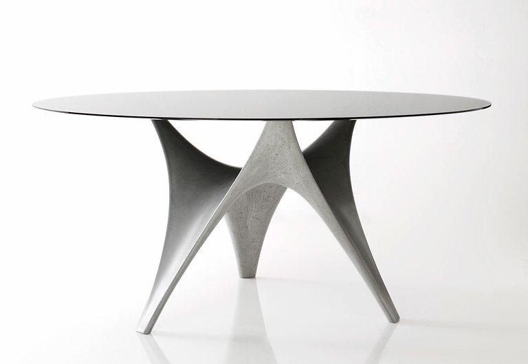 fotostrecke organisch tisch arc von molteni c bild 10 sch ner wohnen. Black Bedroom Furniture Sets. Home Design Ideas