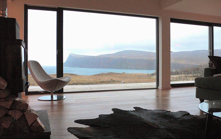 am ende der welt wood house isle of skye schottland. Black Bedroom Furniture Sets. Home Design Ideas