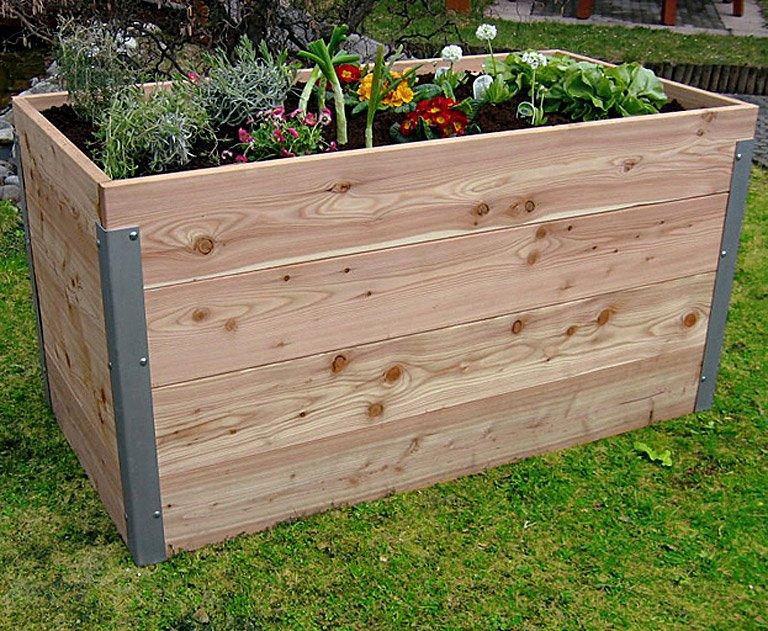 Prächtig Hochbeete kaufen – aus Holz, Metall und Kunststoff - [SCHÖNER WOHNEN] &FG_81