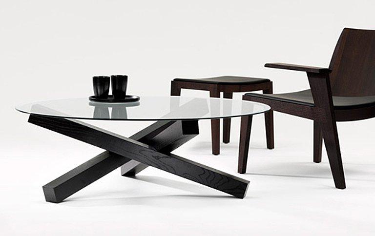 couchtisch campfire aus holz und glas sch ner wohnen. Black Bedroom Furniture Sets. Home Design Ideas