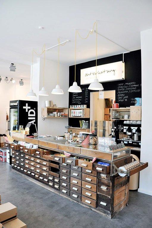 Fotostrecke mode design und guter kaffee unterhaltung for Countertop coffee bar ideas