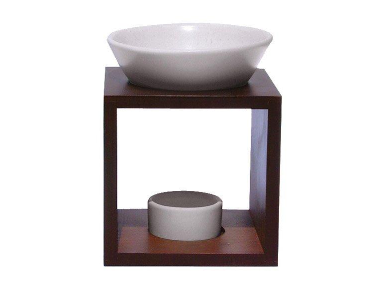 geometrische holz duftlampe mahara von farfalla bild 5 sch ner wohnen. Black Bedroom Furniture Sets. Home Design Ideas
