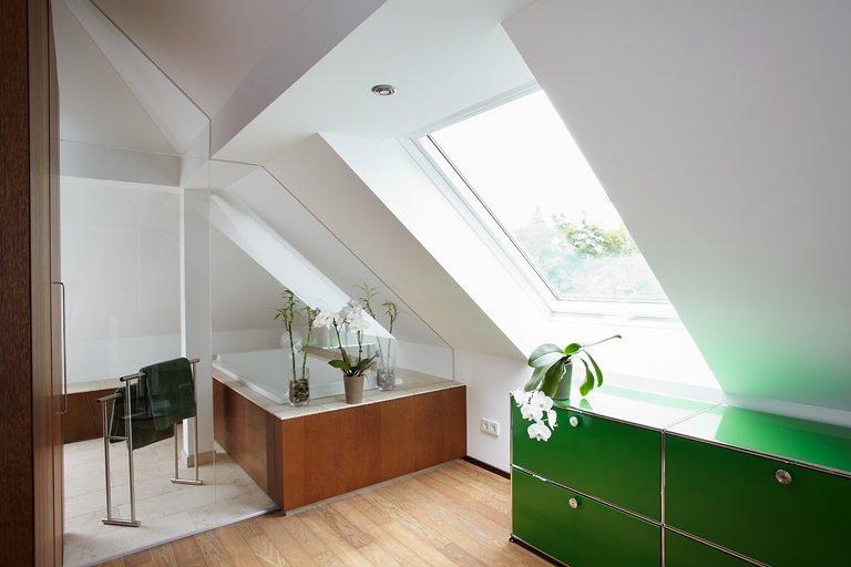 27 design ideen für badezimmer mit dachschräge | churchwork.info - Badezimmer Dachschrge