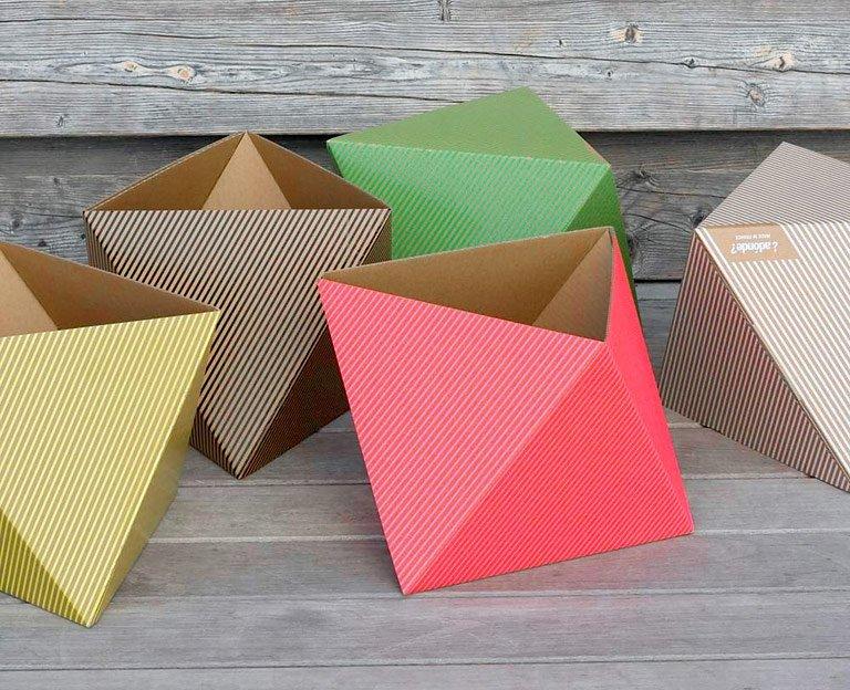 sch nes zum verschenken papierbox octa bild 51. Black Bedroom Furniture Sets. Home Design Ideas