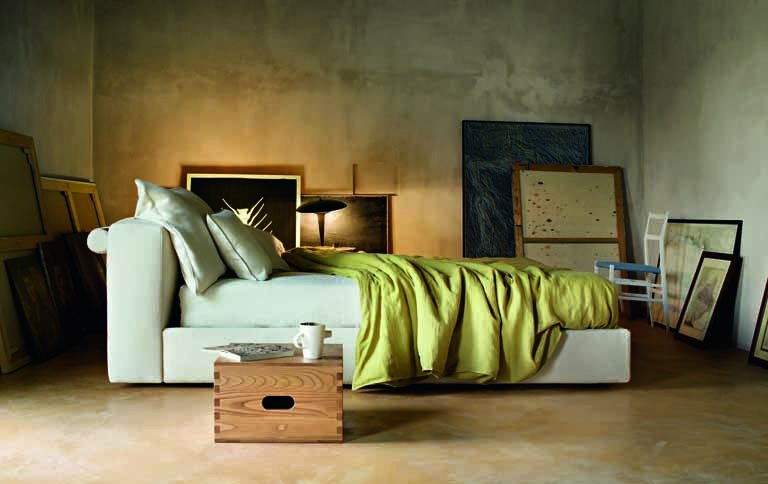 bett mex von piero lissoni f r cassina sch ner wohnen. Black Bedroom Furniture Sets. Home Design Ideas